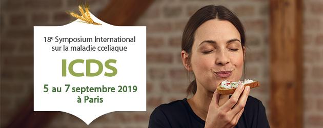 Symposium sur la maladie coeliaque : 5 au 7 septembre 2019